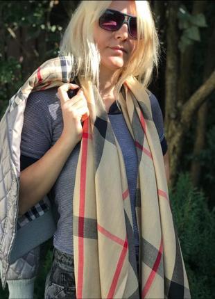 💖💖роскошные турецкие шарфы клетка брбери