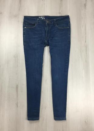 N9 джинсы зауженные синие george георг джордж голубые штаны