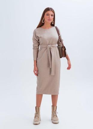 Качественное платье длины миди