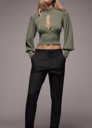 Шикарна блуза zara🤎