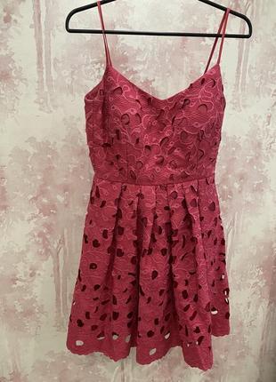 Платье в шикарном цвете, бренд koton