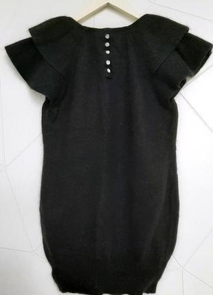 Платье сукня свитер h&m кашемир рукав воланом