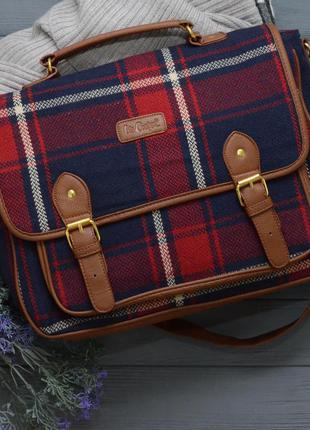 Вместительная красивая сумка lee cooper