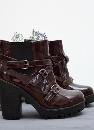 Красивенные новые ботинки boohoo