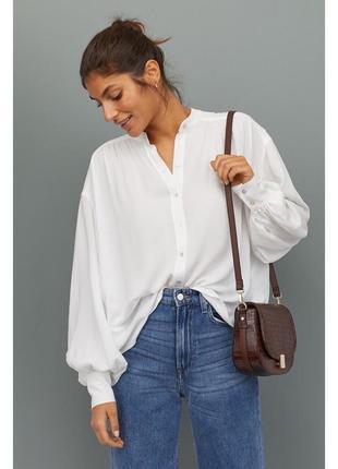 Широкая блузка из високозы