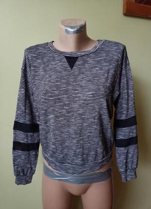 Тонкий свитер реглан кофта