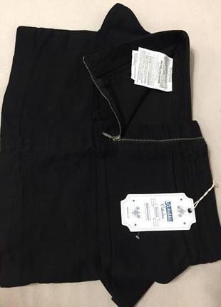 Джинсовая черная юбка bershka denim