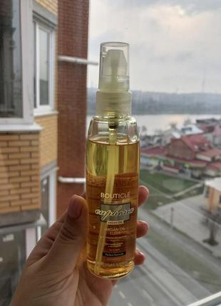 Эликсир для волос на основе масла арганы bouticle