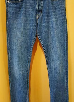 H&m джинсы мужские прямые, в идеале