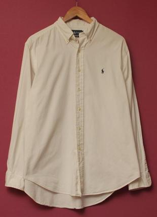 Polo ralph lauren рр xl рубашка из хлопка