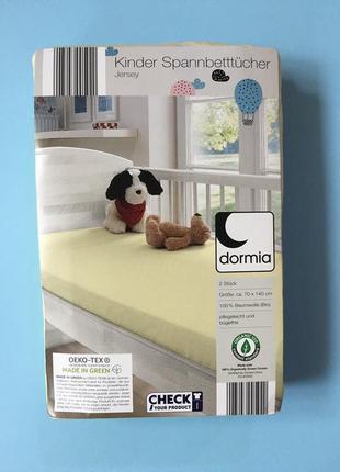 Простынь на резинке детская. бренд dormia