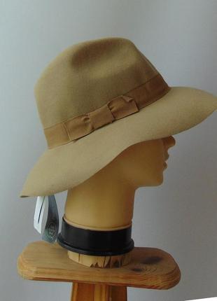 Широкополая женская шляпа 100% шерсть c&a италия