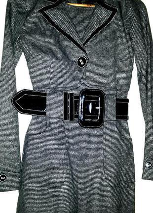 Фирменное платье + болеро + широкий пояс defile lux