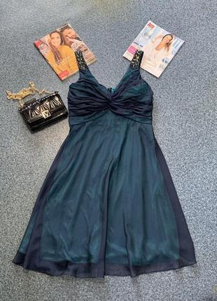 Красивое нарядное платье сарафан шифон