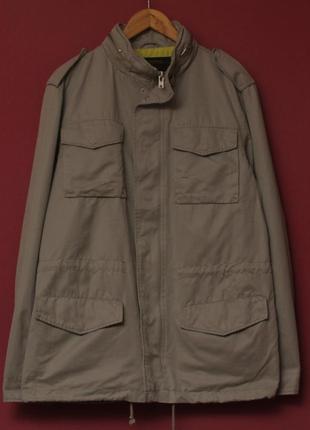 Wesc рр m куртка m-65 куртка парка из хлопка