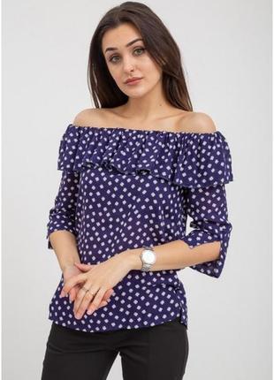Шикарная блуза кофта плечи - s m l