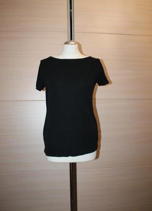 Черная базовая футболка next