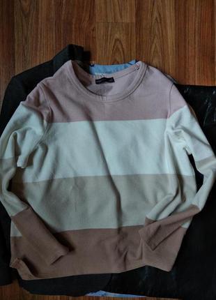 Базовый хлопковый свитерок на весну, размер 20