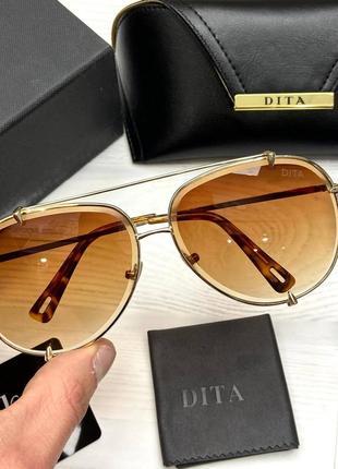 Солнцезащитные очки в стиле dita