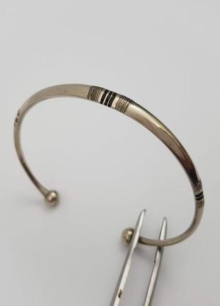 Красивый винтажный браслет туарегов (берберов). под серебро.