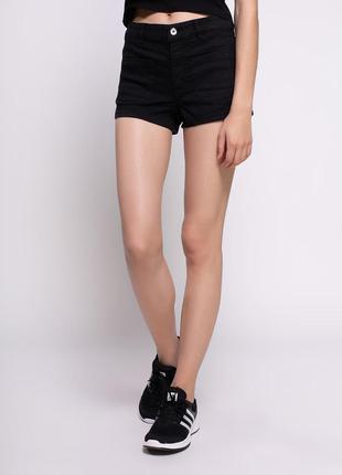 Чёрные шорты/h&m