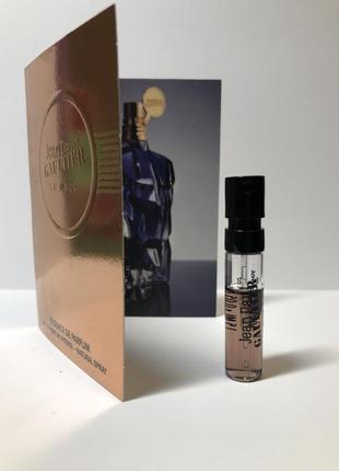 Фирменный пробник jean paul gaultier le male essence de parfum, 1,5 ml