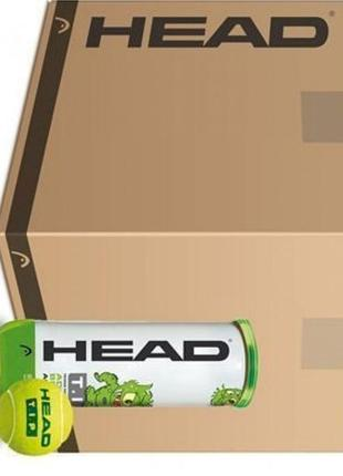 Мячи теннисные head tip green 3b банка box ящик