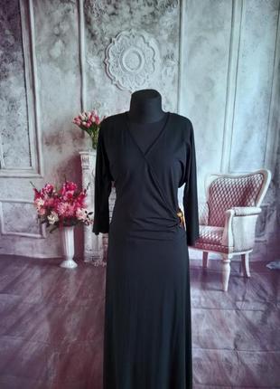 Мега стильное платье миди вискоза
