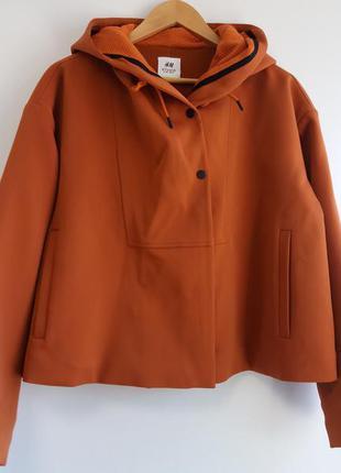 Куртка в терракотовом  цвете h&m studio