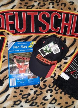 Fifa world cup 2006 германия шарф бейсболка официальная лицензионная продукция