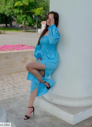 Платье вышивка лен
