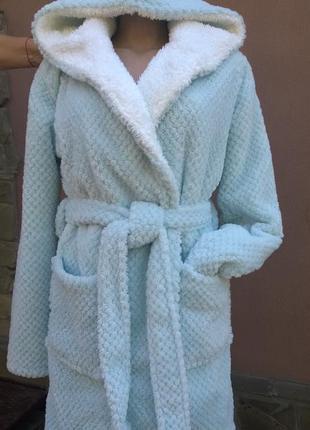 Шикарный банный махровый халат.