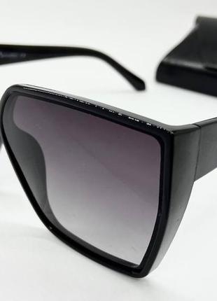 Atmosphere женские солнцезащитные очки чёрные с поляризацией