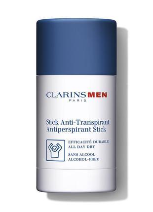 Дезодорант-антиперспирант стик для мужчин clarins, 75мл.