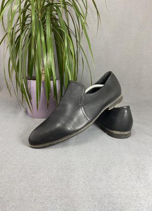 Мужские туфли от carlo pazolini, 41-42 размер, натуральная кожа