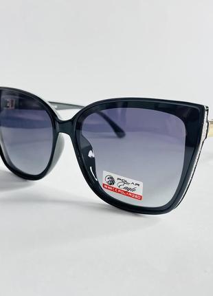 Очки солнцезащитные женские кошечки с поляризацией