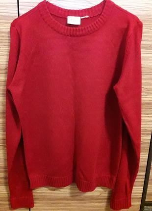 🌞 красный свитер джемпер винный