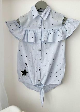 Блузка/ рубашка/ сорочка на короткий рукав