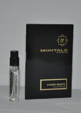 Montale starry night пробник 2ml