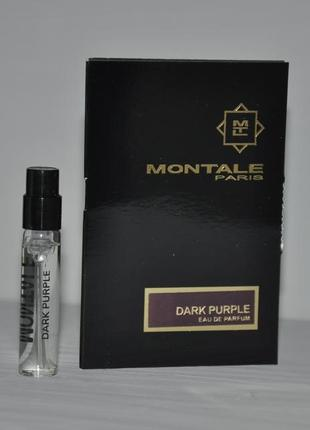 Montale dark purple пробник 2ml