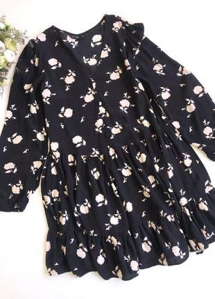 Платье в цветочный принт  f&f