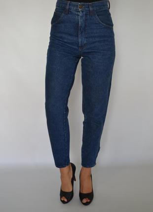 Джинсы бойфренды момсы,высокая посадка,мом джинс zip.