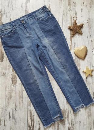 Стильные мом джинсы