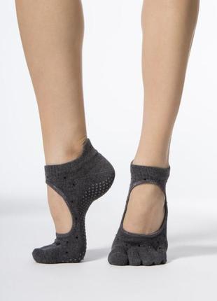 Носки для йоги фитнеса пилатеса toesox 33-36 р.