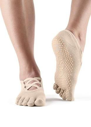 Toesox носки для йоги, пилатеса, спорта