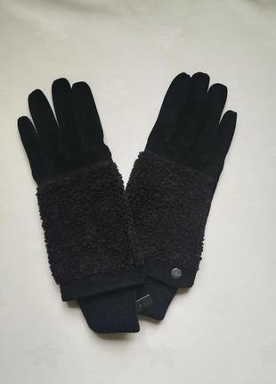 Замшеві рукавиці
