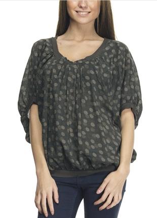 Красивая блуза/топ в горох бренда pink woman, р. m-l, новая