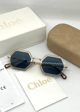 Солнцезащитные очки chloe tally ce146s