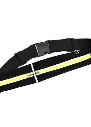 Спортивная бананка на пояс, узкая, сумка, спортивна сумочка,  вузька