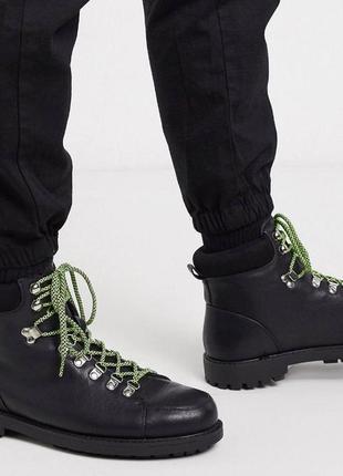 Кожанные демисезонные ботинки / чудові шкари демосезонні
